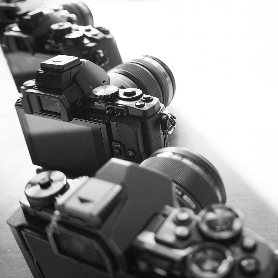 interchangeable lens OM-D camera system